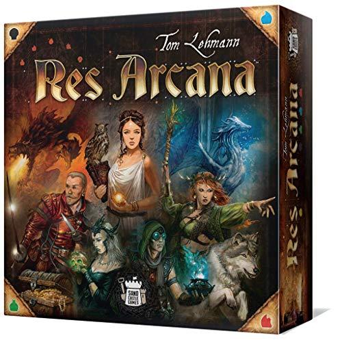Asmodée- Res Arcana, Multicolor, Talla Única (Scgra105es), Versión en español