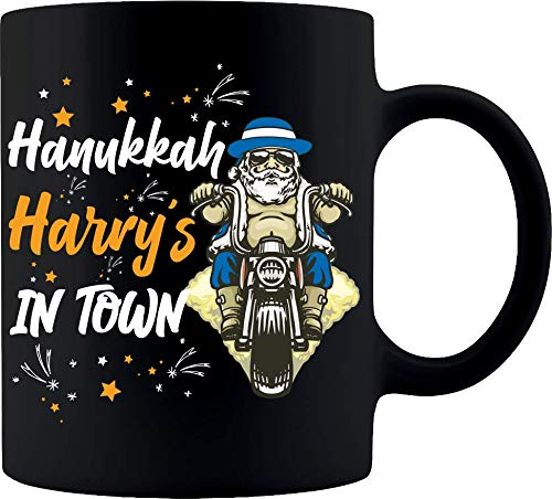 Hanukkah Harry holiday- Coffee Mug,New For 2020 Funny Chanukah Gift For Entire Family,Jewish Holiday Humor $14.95