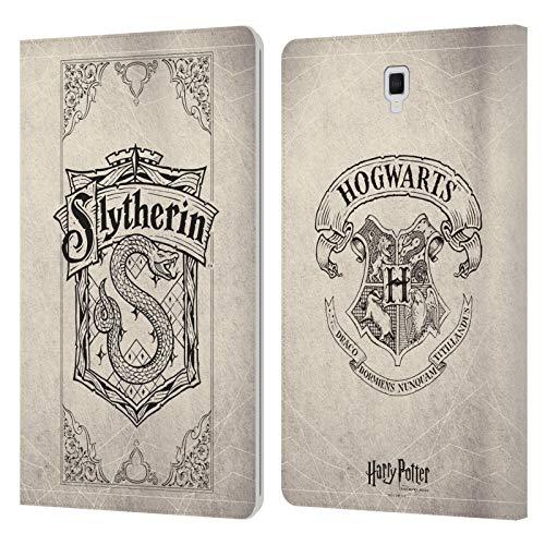 Head Case Designs Ufficiale Harry Potter Slytherin Pergamena Sorcerer's Stone I Cover in Pelle a Portafoglio Compatibile con Galaxy Tab S4 10.5 (2018)