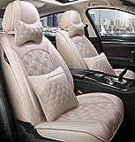 Car Seat cover set, cómodo piezas de automóvil, llenado de alforfón, transpirable y resistente al desgaste, conveniente para todas las estaciones,E