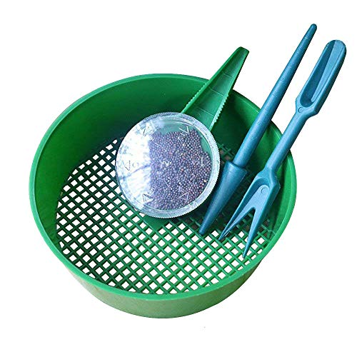 Best Prices! Daycount 3Pcs/Set Sowing Tools Seed Dispenser Sifting Pan Sower Seed Spreaders Planter ...