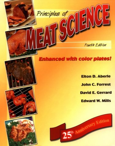 Download Principles of Meat Science 0787247200