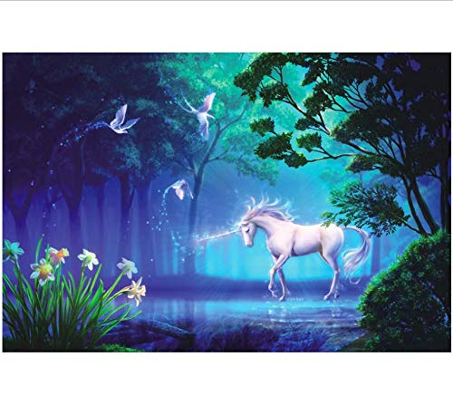 Rompecabezas Para Adultos 1000 Piezas 3D Unicornio Regalo Montaje De Madera Decoracion De...