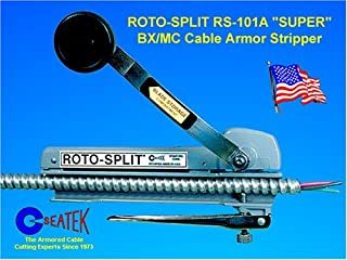 Southwire Tools RS-101A Seatek Roto-Split Super BX Cable Armor Stripper