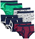 Simple Joys by Carter's 8-pack Underwear Conjunto ropa interior Navy/Red/Trucks/Green 4-5 Pack de, 1