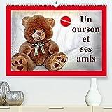 Un ourson et ses amis (Premium, hochwertiger DIN A2 Wandkalender...