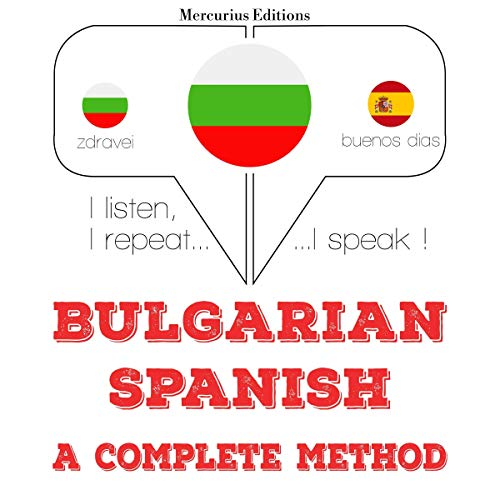 Bulgarian - Spanish. A complete method cover art