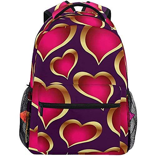 Scuola 14 februari San Valentino dames rugzakken voor reizen laptop teens schoudertas rugzak voor school rugzak heren