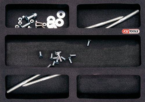 KS Tools 815.1200 Universal System-Einlage für Werkzeug, leer, 1/2 Einlage