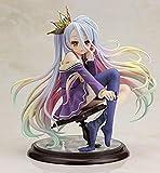 YYGB No Game No Life Shiro Anime Figura de acción Modelo Estatua - 15 cm PVC Personajes Escultura muñeca de Juguete - Mejor Regalo Coleccionable