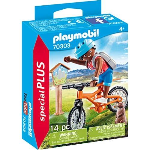 Playmobil Escursione in Mountain Bike, Figurine, Colore Multicolore, 70303