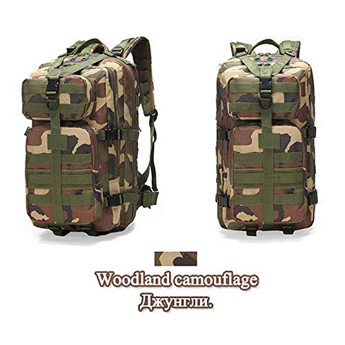 DADZSD Tactical Military Backpack 3P Outdoor Impermeable