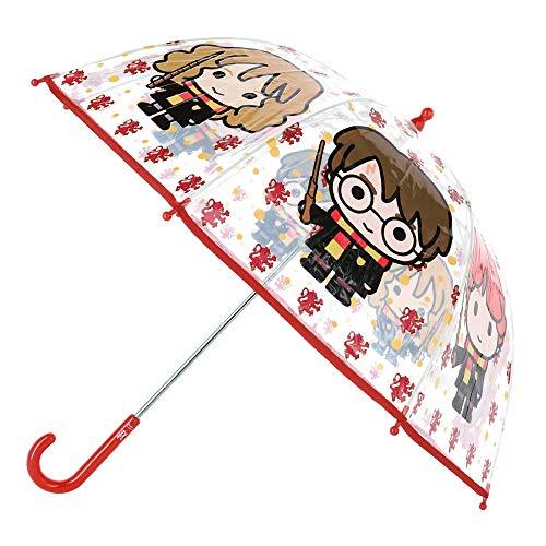 CERDÁ LIFE\'S LITTLE MOMENTS- Paraguas Transparente de Harry Potter - Licencia Oficial Warner Bros, Color (2400000551)