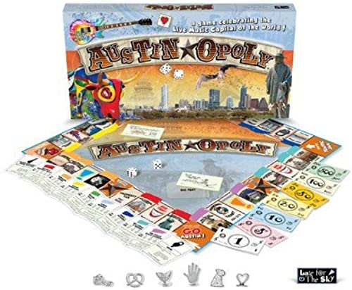 Austin Opoly Money Trading Game by Late for the Sky