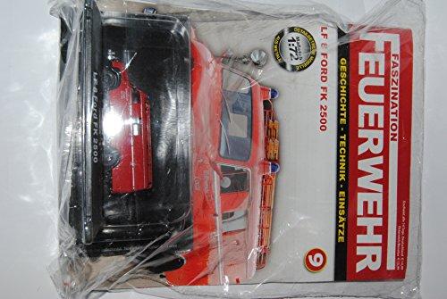 DeAgostini . Faszination Feuerwehr Nummer 9: LF 8 Ford FK 2500 - Modellauto-Sammlung