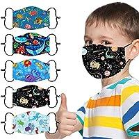 子供用マスク【MASZONE】超快適マスク 子供用 布マスク 洗えるマスク スポーツマスク 5枚 マスク ひんやり 男女兼用 フィット感 耳が痛くなりにくい 呼吸しやすい 伸縮性抜群 立体構造 丸洗い 繰り返し使える 布マスク 立体 防塵マスク