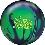 Brunswick Kingpin Max Bowling Ball Navy/Green/Light Blue, 15lbs
