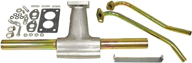 EMPI 00-3232-0 Progressive Manifold Kit w/Tubes & Bracket, Isolated, Type 1 & 2, w/Hardware