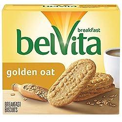belVita Golden Oat Breakfast Biscuits, 5 Packs (4 Biscuits Per Pack)