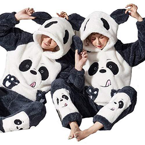 Winter-Pyjama, Anzug, Nachtwäsche, Flanell, weich, Einteiler, Pyjama, Cartoon-Anime,...