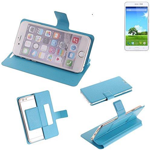 K-S-Trade® Flipcover Für Bestore Star Note 5 N5D N9200 Schutz Hülle Schutzhülle Flip Cover Handy Case Smartphone Handyhülle Blau