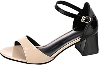 High-heeled sandals Women Shoes High Heel Crystal Ladies Sandals Female s Summer Footwear Mixed Colors-Beige_37_CHINA