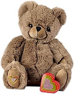 My Baby's Heartbeat Bear - Cocoa Teddy Bears Stuffed Animals w/a 20 sec Voice Recorder - Lil 8