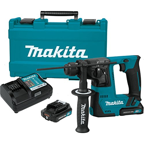 Best Prices! Makita RH02R1 2.0Ah 12V max CXT Lithium-Ion Cordless 9/16 Rotary Hammer Kit, accepts S...