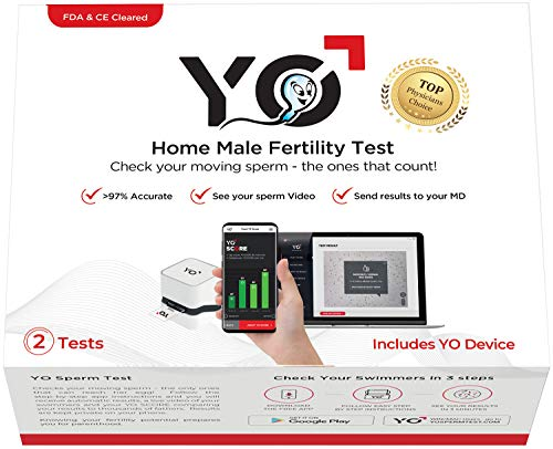 YO-Home-Sperm-Test-for-MAC-Windows-PC-and-Android-Phones-Check-Description-for-Compatibility-Includes-2-Tests-Mens-Motile-Sperm-Fertility-Test-Check-Moving-Sperm-and-Record-Videos