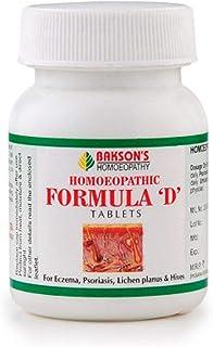 Bakson Homeopathy Formula D Tablets (75tab) by USAMALL