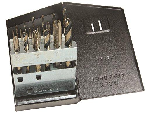 Viking Drill and Tool 57990 SP-18TDM Type 21-UB Spiral Point Plug Style Magnum Super Premium Tap/Drill Set