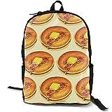 XCNGG Mochila de impresión de fotograma Completo para Adultos Mochila Informal Mochila Mochila Escolar Backpacks Delicious Donut School Bag Travel Daypack Shoulder Bag