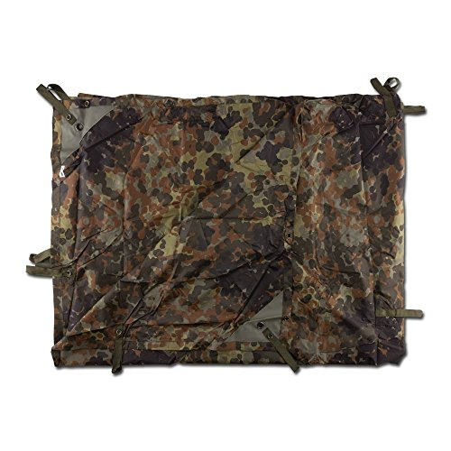 Mil-Tec Mehrzweckplane Basha Light Weight Flecktarn