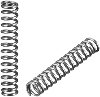 20pcs 0.8mm 0.8x7mm Stainless Steel Compression Spring Wire Diameter 0.8mm Outer Diameter 7mm Length 15-50mm no logo WSF-Spring Size : 15mm