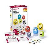 Miniland- Juego de cápsulas con caritas de emociones, Multicolor, 1 Unidad (Paquete de 1) (45401)