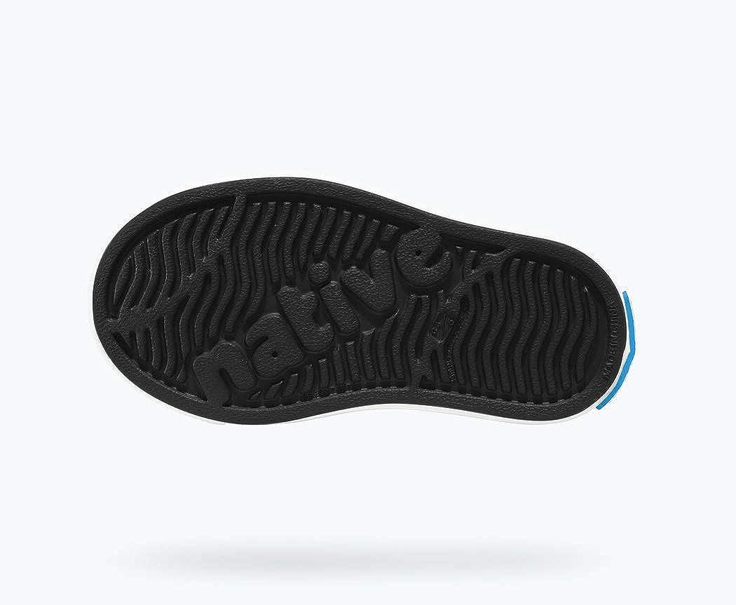 Native Shoes - Miles Child, Jiffy Black/Shell White, C7 M US