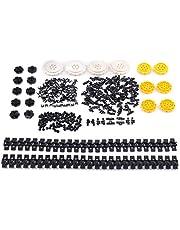 Ditzz Technische reserveonderdelenset, Technic Truck Crawler onderdelen, klembouwstenenset compatibel met Lego-technologie