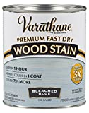 297425 Premium Fast Dry Wood Stain, Bleached Blue, 32 oz