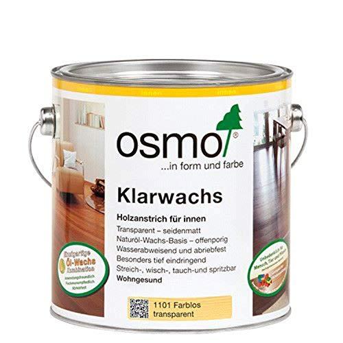 OSMO Klarwachs 10200001, 0,75 L, farblos