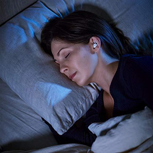 Bose SleepbudsII: Une Technologie d'Aide au sommeille Qui Vous Aide à Vous endormir Plus Vite, c'est cliniquement prouvé. Dormez Mieux avec des Sons relaxants et apaisants
