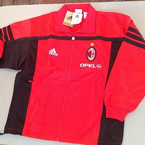 adidas ACMILAN Trainingsanzug 2000/2001, rot / schwarz, 6