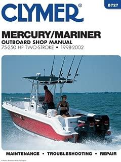 Mercury Marine 2 strk otbrd 75250h (Clymer Marine Repair Series)