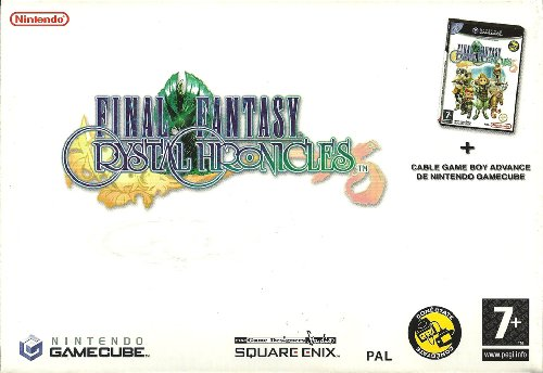 FINAL FANTASY CRYSTAL CHRONICLES + CABLE GAMEBOY ADVANCE
