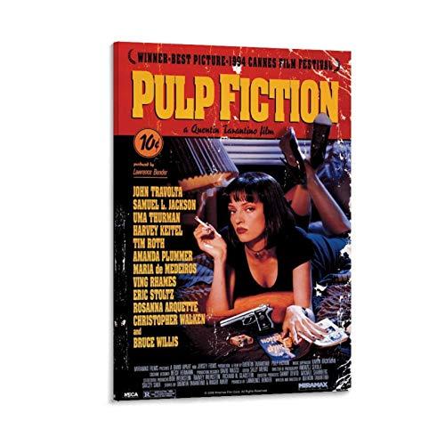 GDFG - Poster su tela, motivo: Pulp Fiction, 20 x 30 cm
