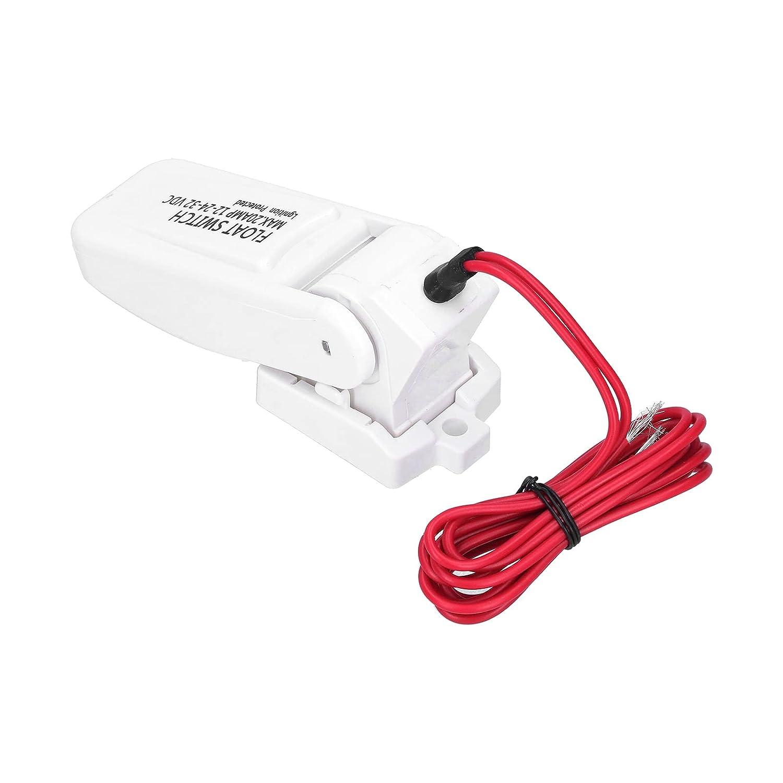 Interruptor automático de bomba de sentina, interruptor de flotador Seguridad eléctrica automática Interruptor de bomba de sentina de fácil uso para ingeniería electrónica DC32V/24V/12V
