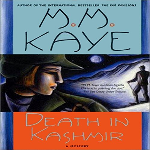 Death in Kashmir audiobook cover art