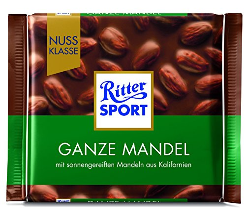 Ritter Sport Nuss Klasse Ganze Mandel, 100 g