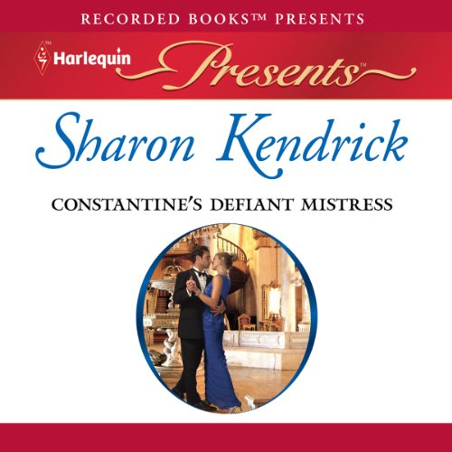 Constantine's Defiant Mistress audiobook cover art