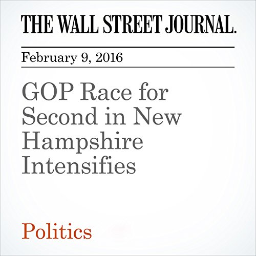 GOP Race for Second in New Hampshire Intensifies audiobook cover art