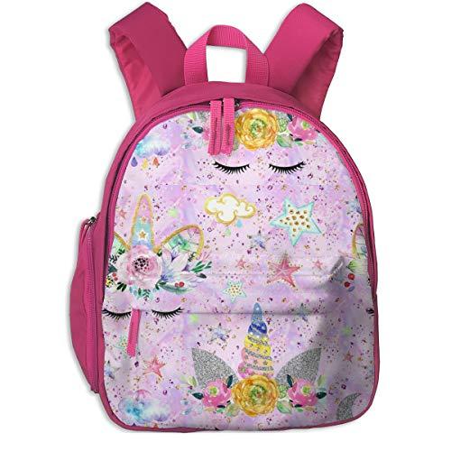 Mochila Infantil niña,Unicorn Confetti Pinklilac Glitter_36